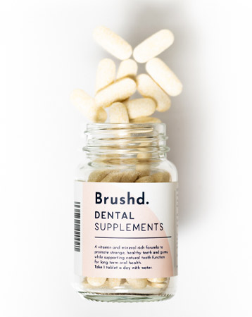 Brushd. Dental Supplements £8.99