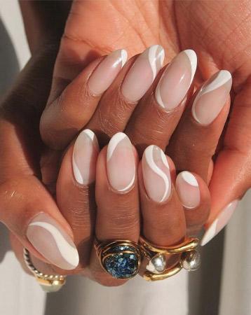 Minimalist nail design