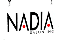 Nadia salon logo
