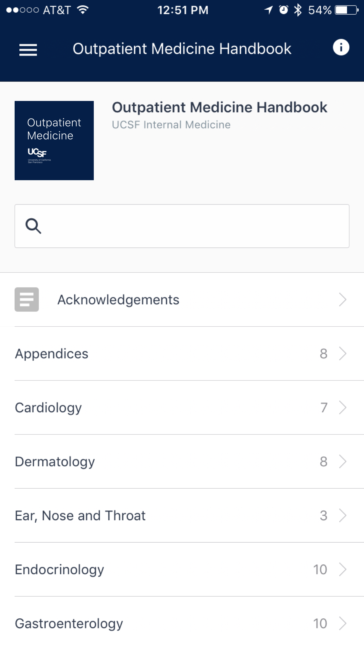UCSF Outpatient Medicine Handbook · AgileMD