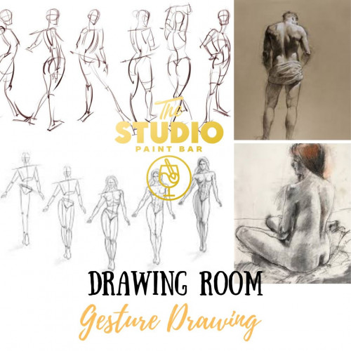 Gesture Drawing: The Studio Drawing Room - Mississauga