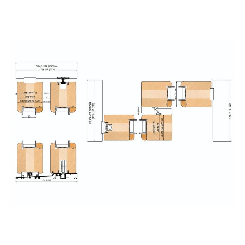 Freze pentru Lemn - Usi Culisante pentru terase
