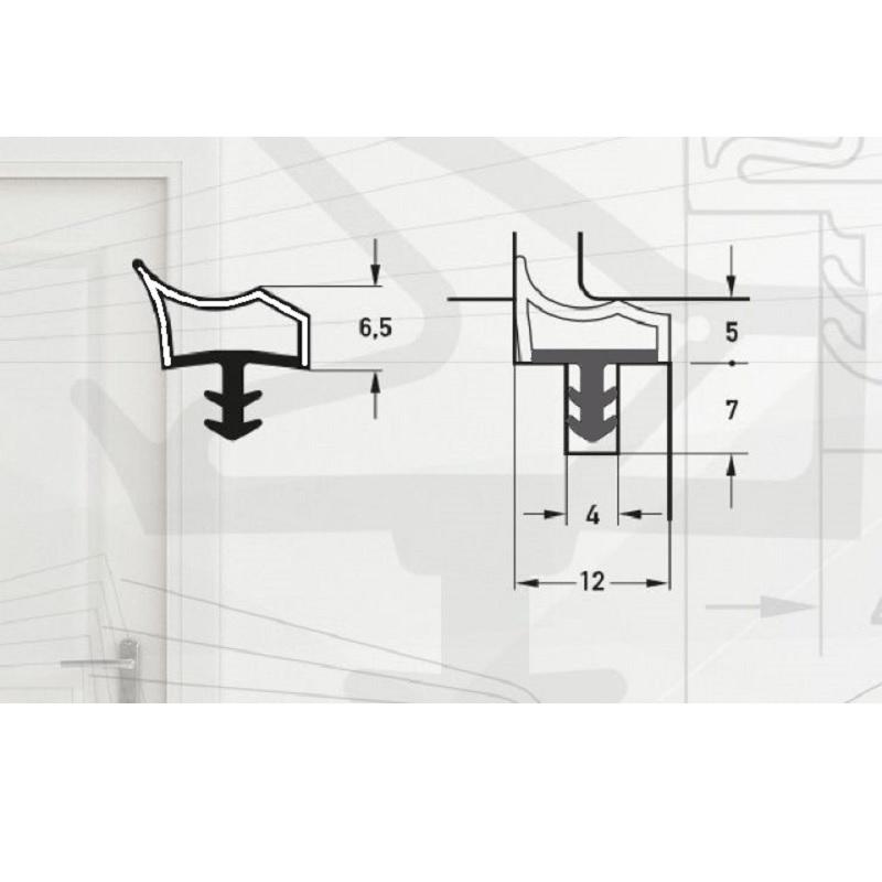 Garnitura pentru usi de interior -pt.falt12mm-art. M3967/12