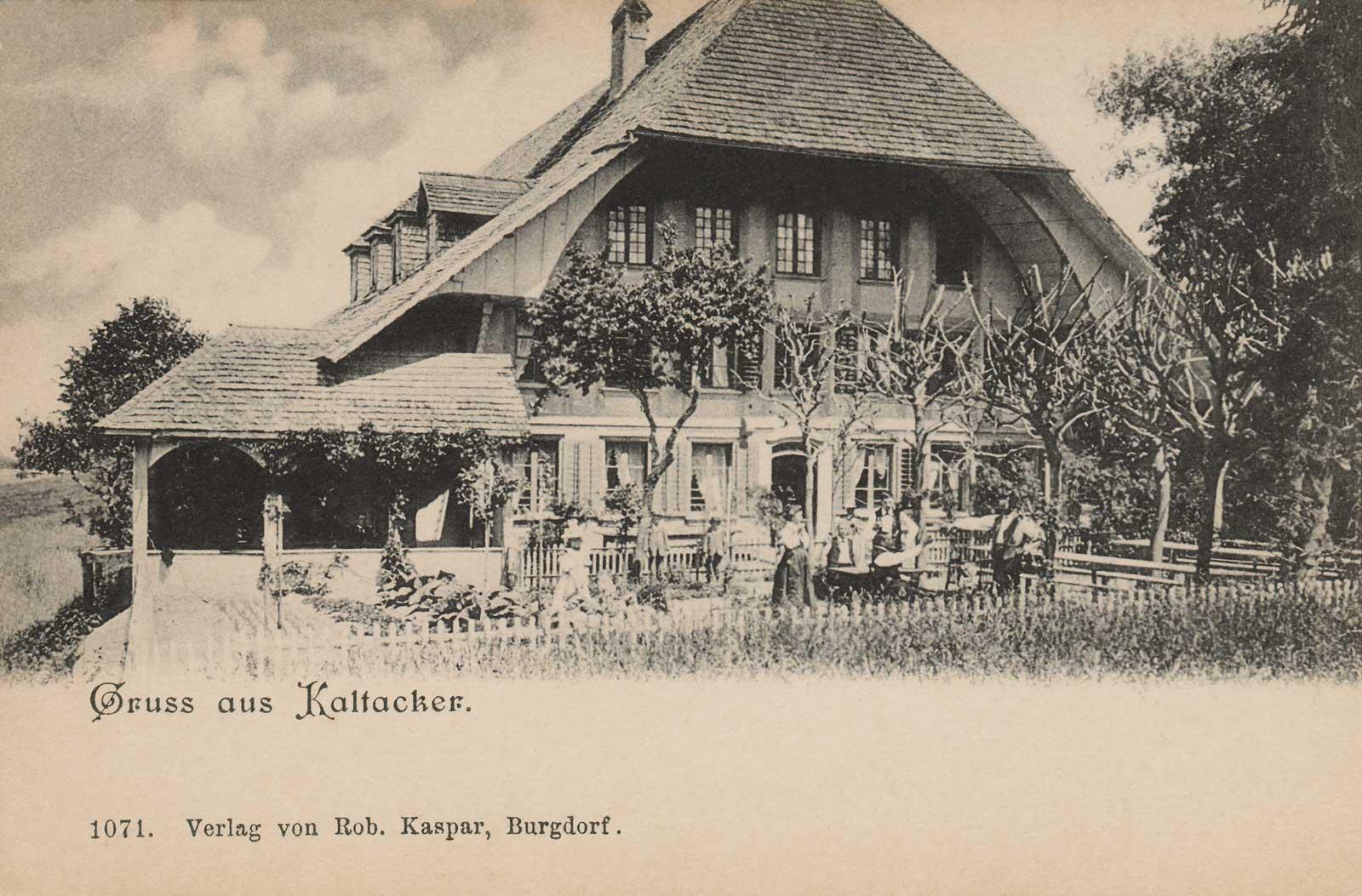 Hirschen Kaltacker 1689