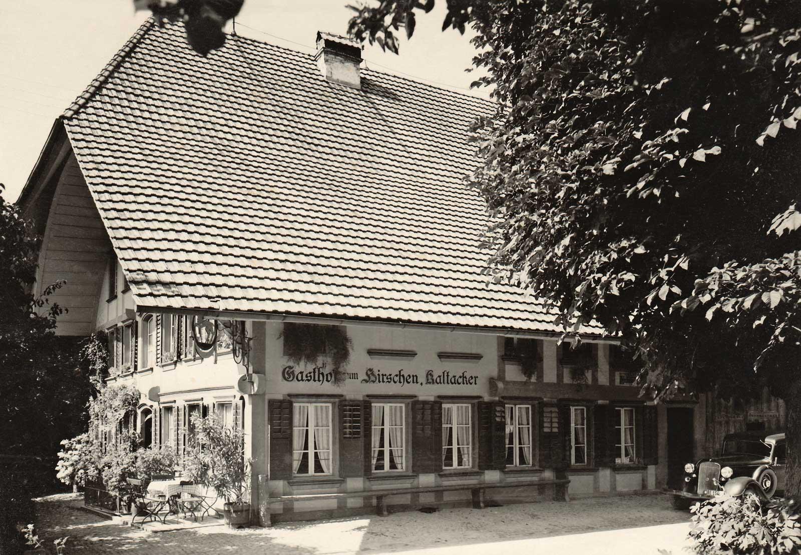 Hirschen Kaltacker 1971