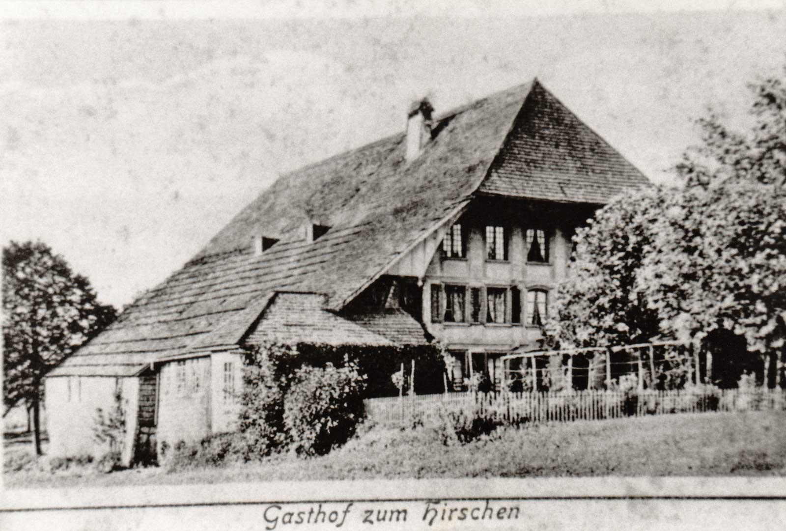Hirschen Kaltacker 1937