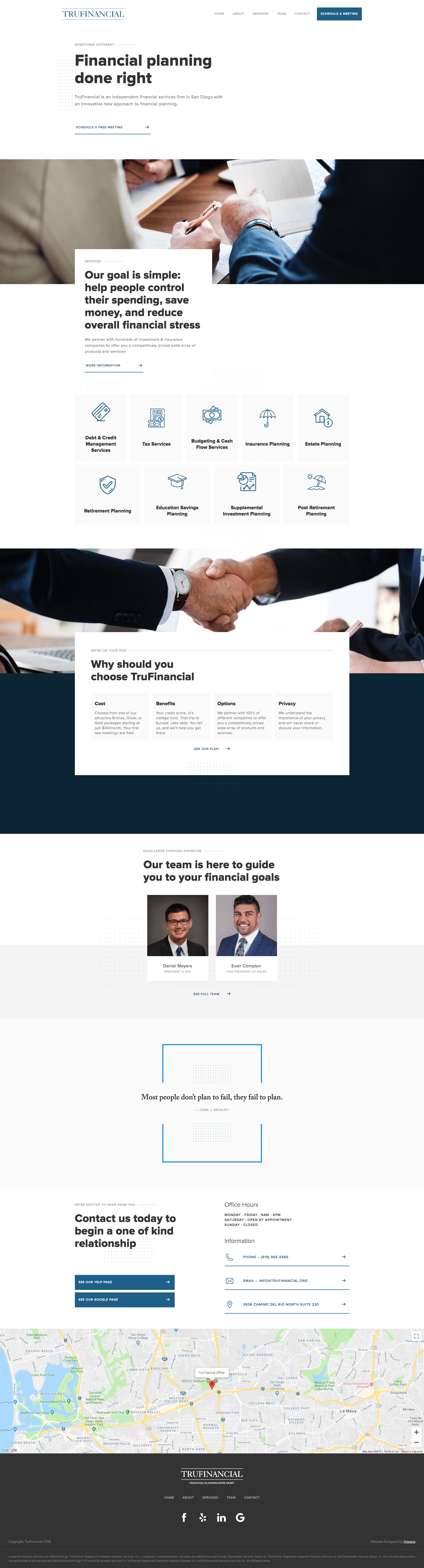 TruFinancial Website Preview