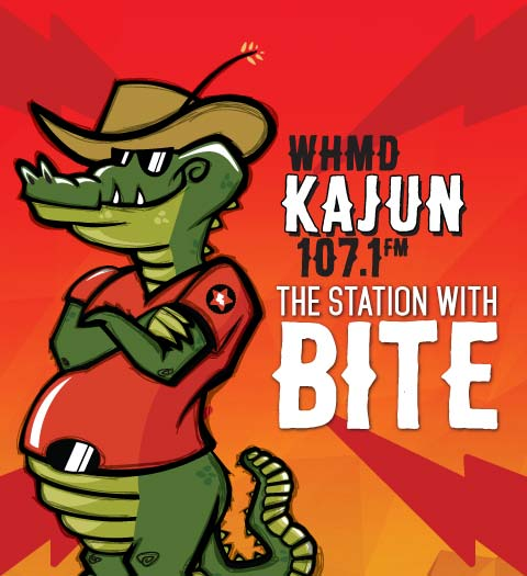 WHMD Kajun 107,1 Advertise with us Badge
