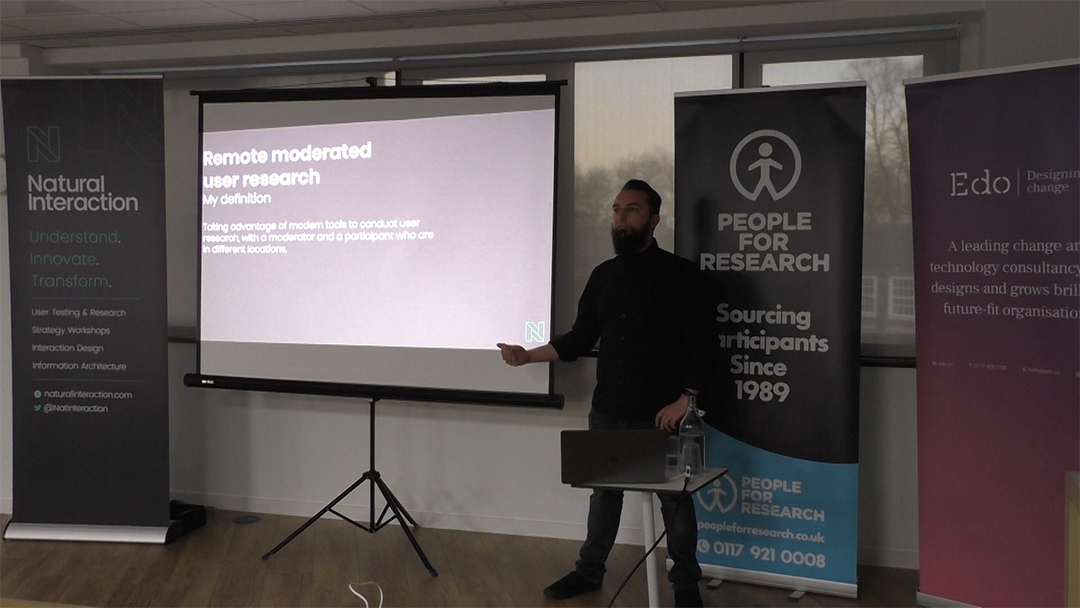 Adam Babajee-Pycroft speaks at UCD Bristol