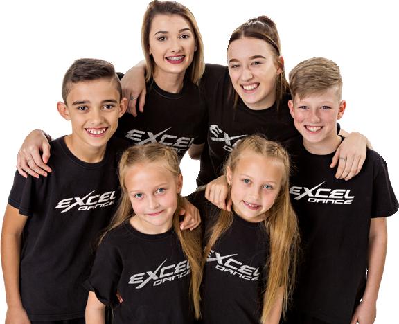 Excel group of dancers