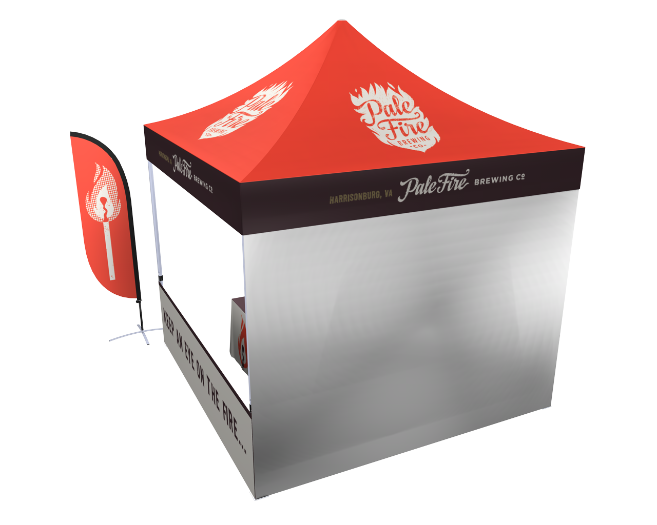 10x10 Pop-up Tent Deluxe Kit