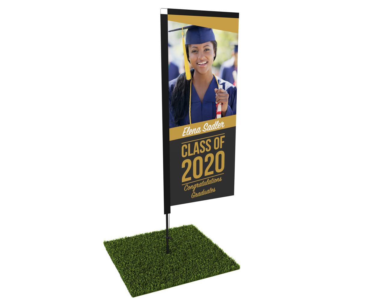 Outdoor Graduation Banner