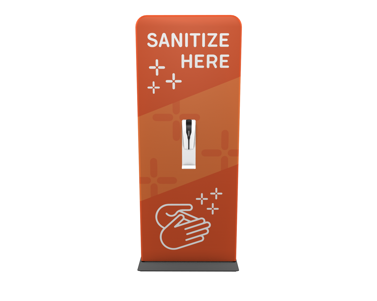 "Waveline 36"" Hand Sanitizer Station"