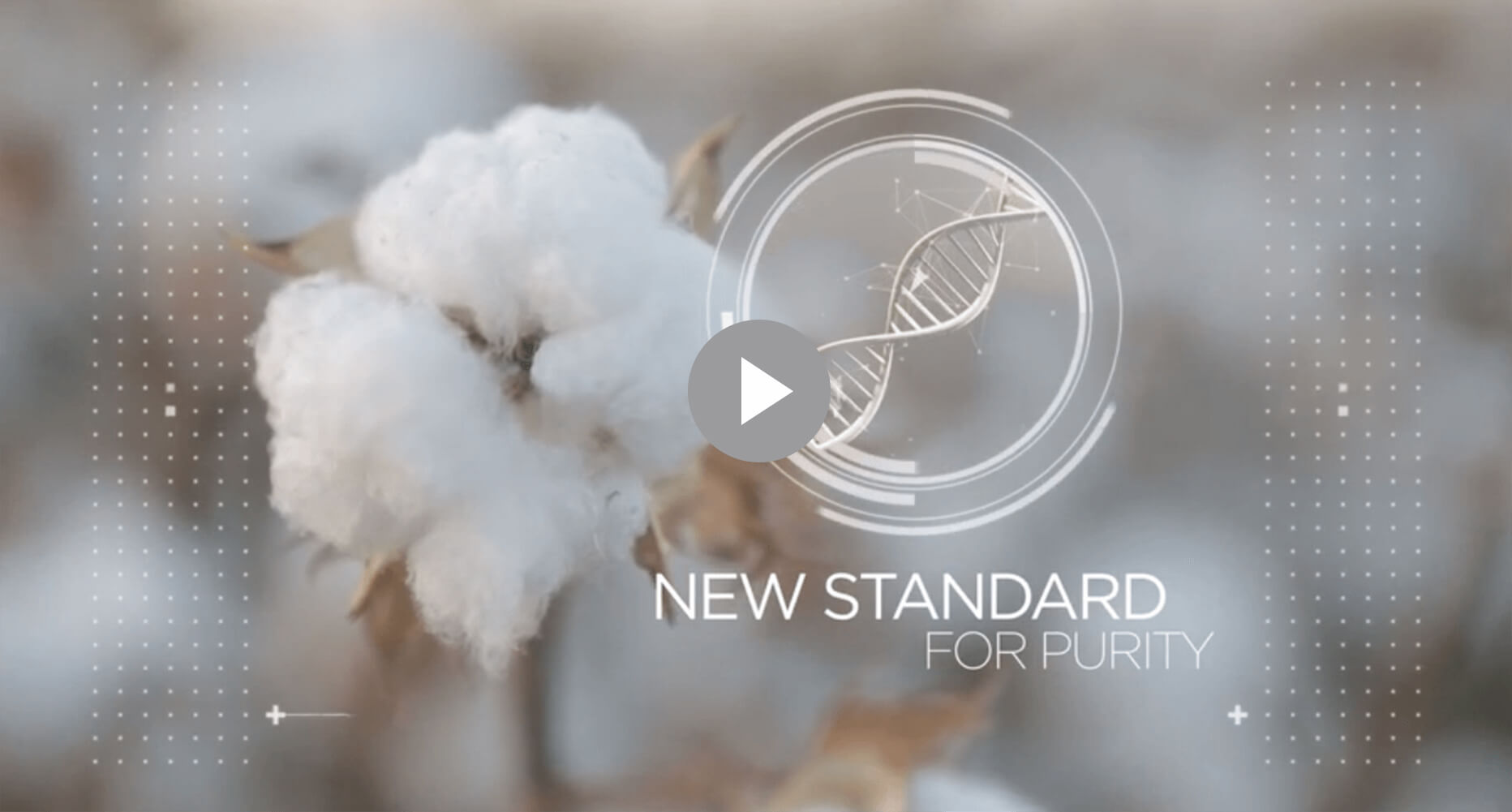 New Standard for Purity: cotton, DNA