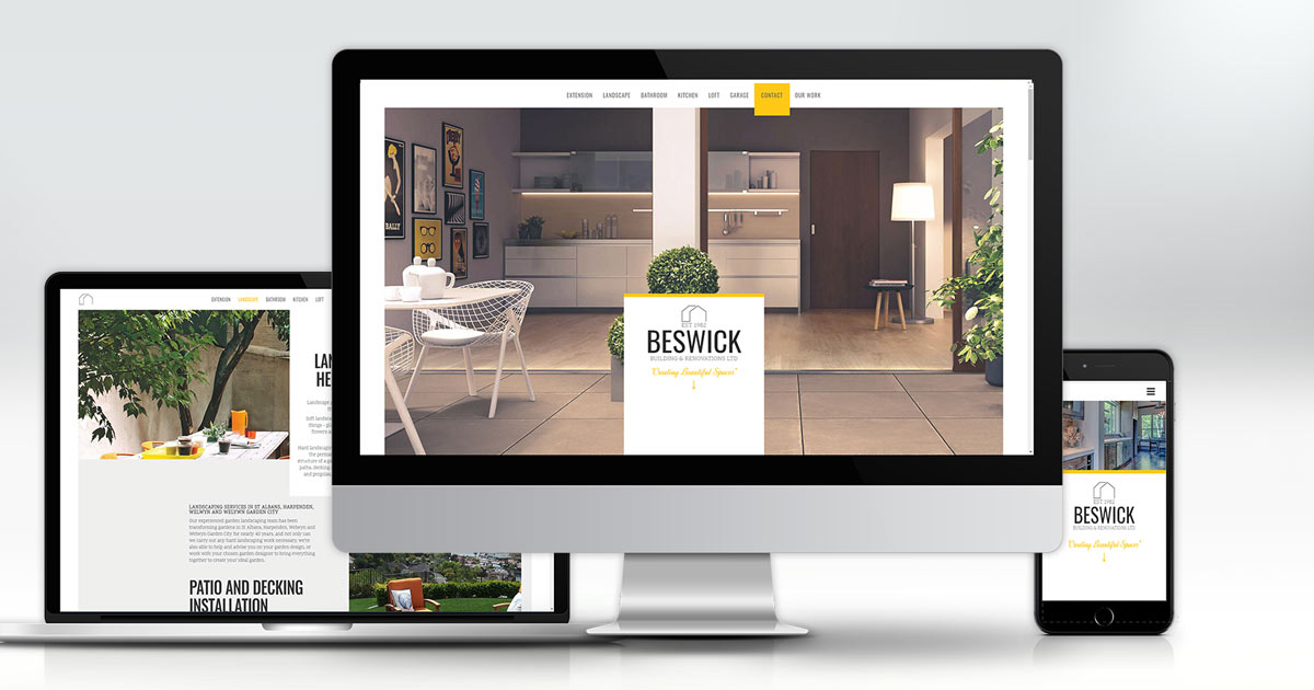 website design in hertfordshire
