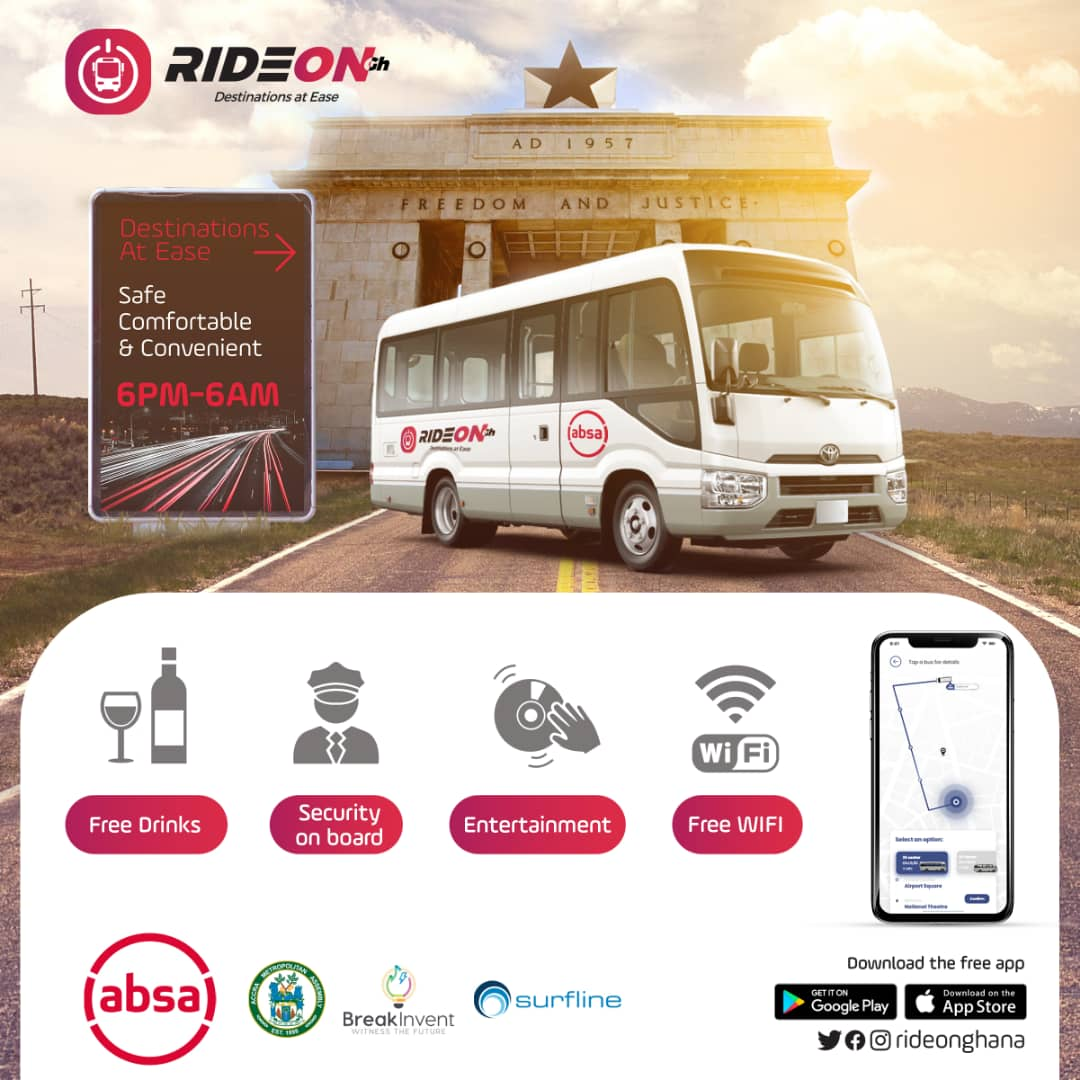 Ride On service recently launched