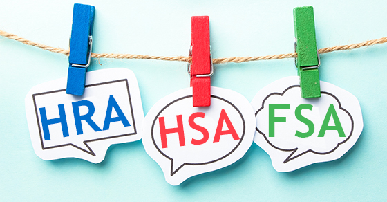Which tax-advantaged health account should be part of your benefits?