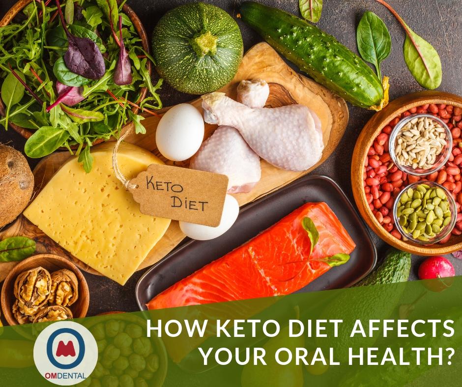 keto diet on oral health