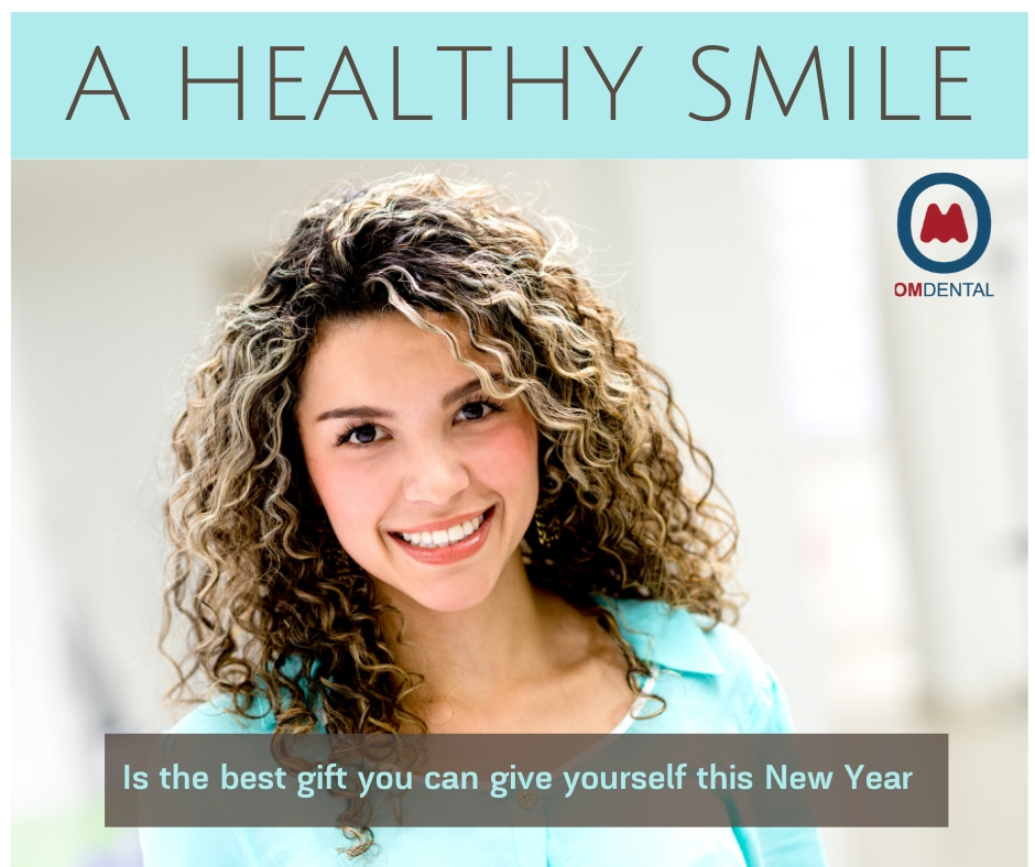 Keeping a healthy smile – the best gift you can give yourself this New Year