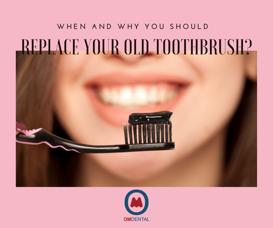 When and why you should replace your old toothbrush