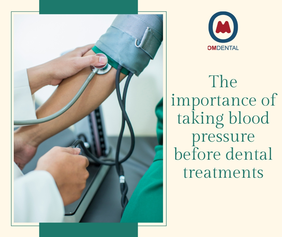 The importance of taking blood pressure before dental treatments
