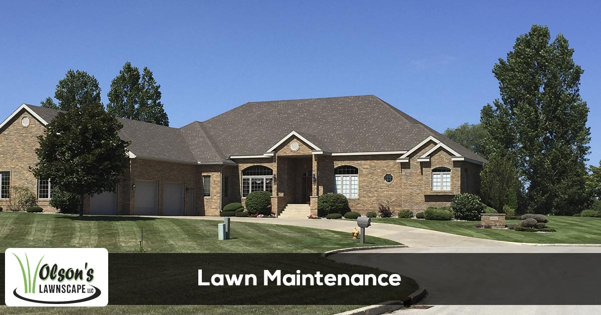 Lawn maintenance service provider in Escanaba, Marquette, Gladstone, Iron Mountain, and Menominee Michigan