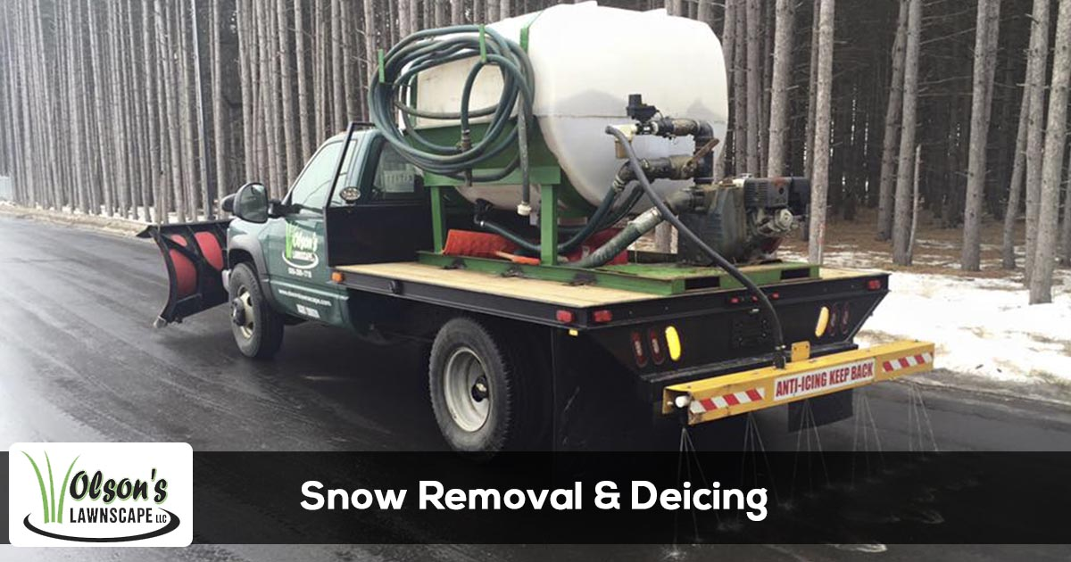Deicing and snow removal services in Michigan