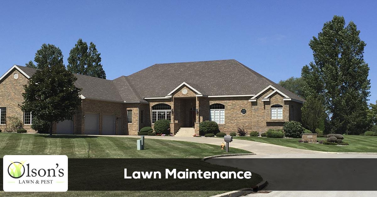Lawn maintenance service provider in Escanaba, Marquette, Gladstone, Iron Mountain, and Menominee Michigan