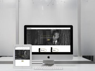 Balla for Men Website