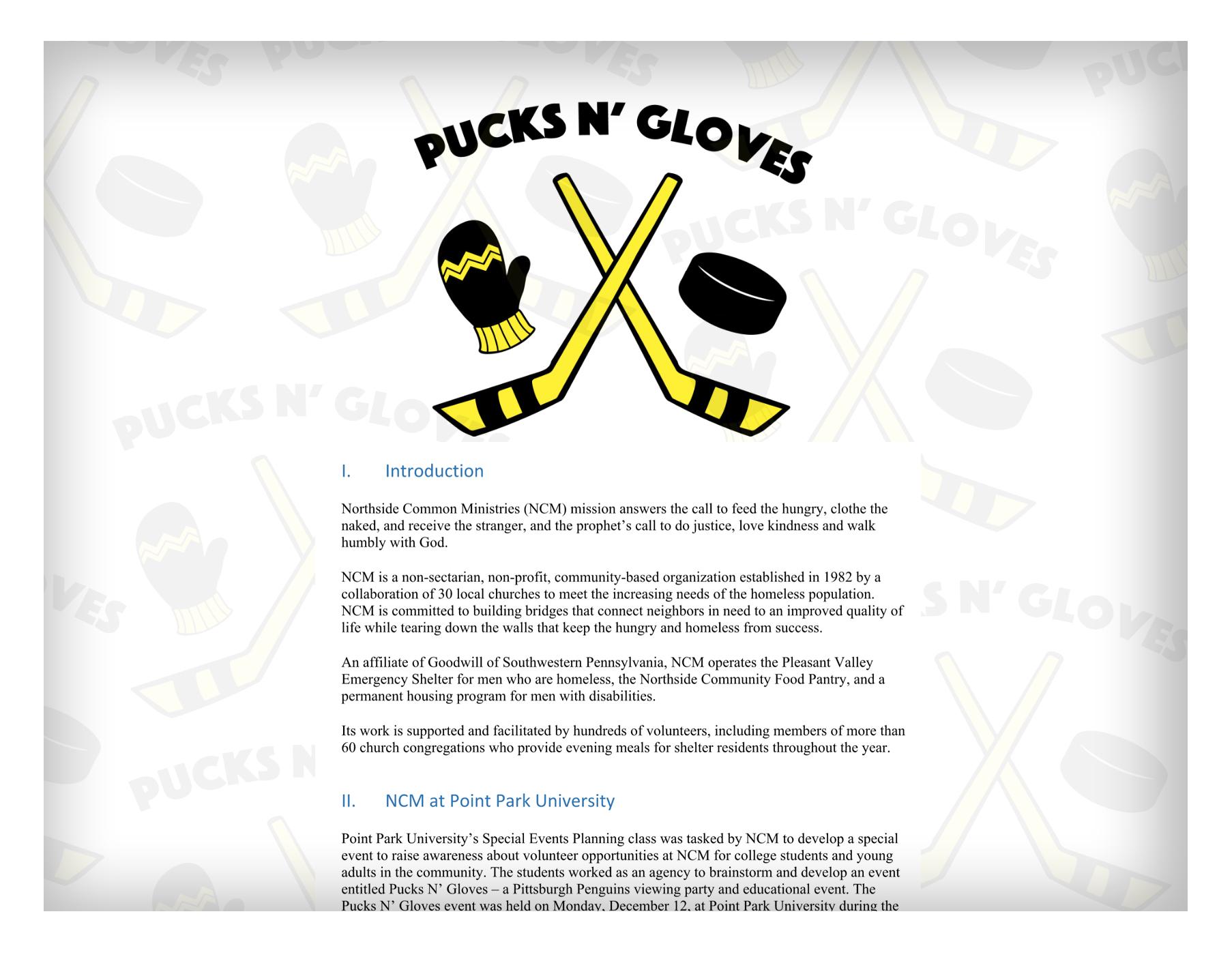 Pucks n' Gloves Strategy