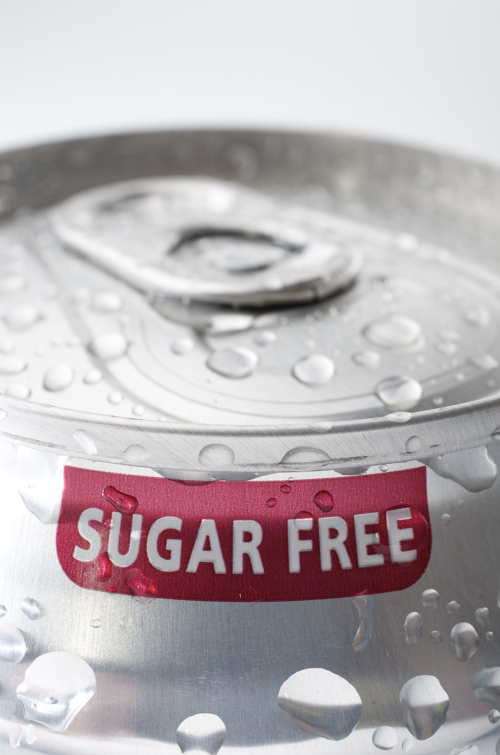 sugar free soda label