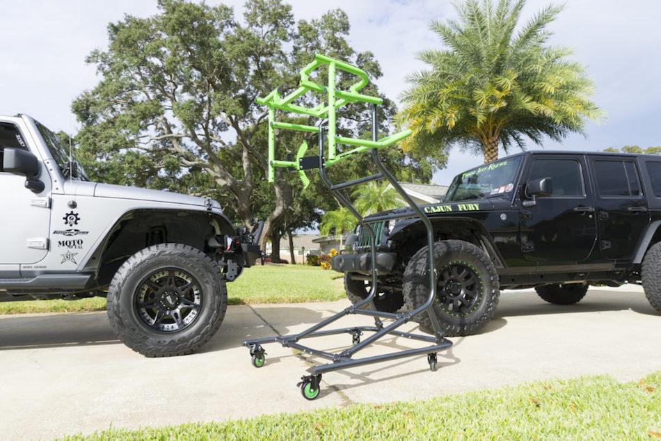 Jeep Wrangler Hardtop Lift