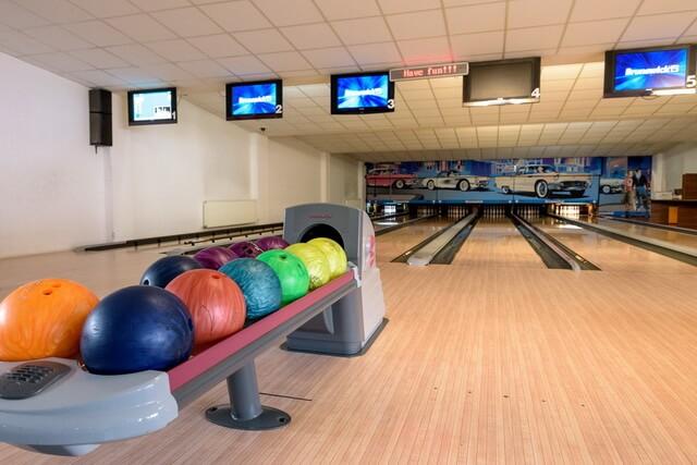 piste de bowling in bran