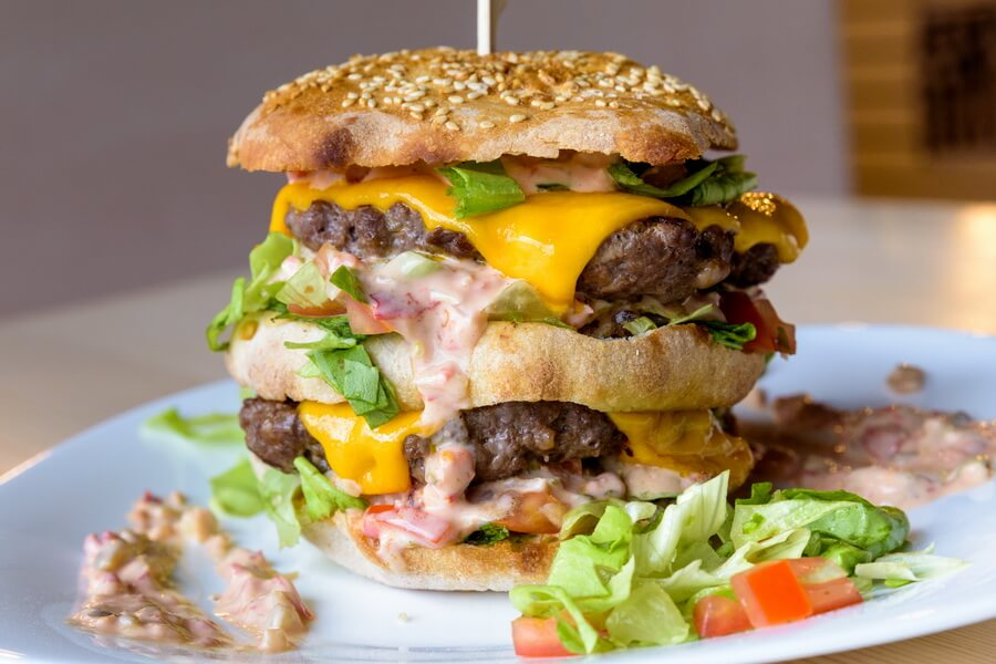 burger la lupi bran