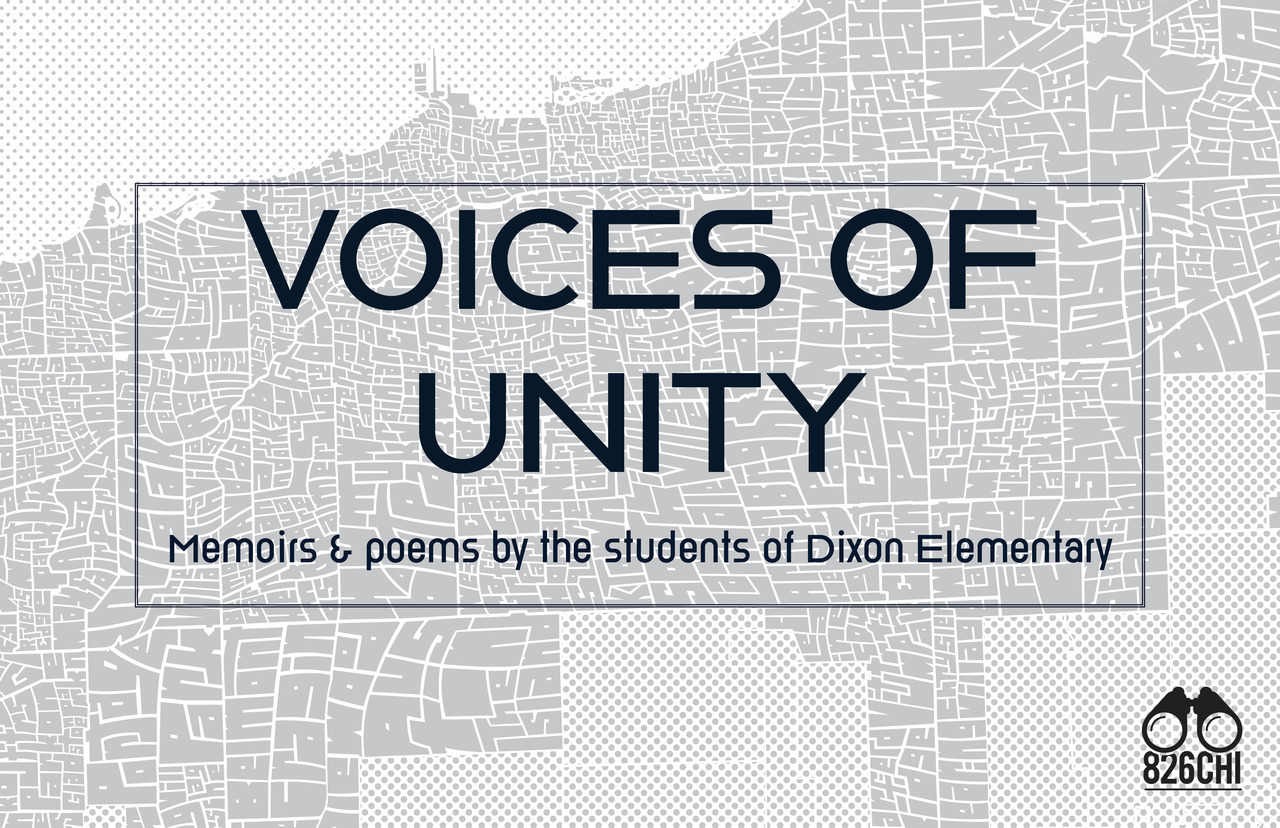Graphic ad for Voices of Unity