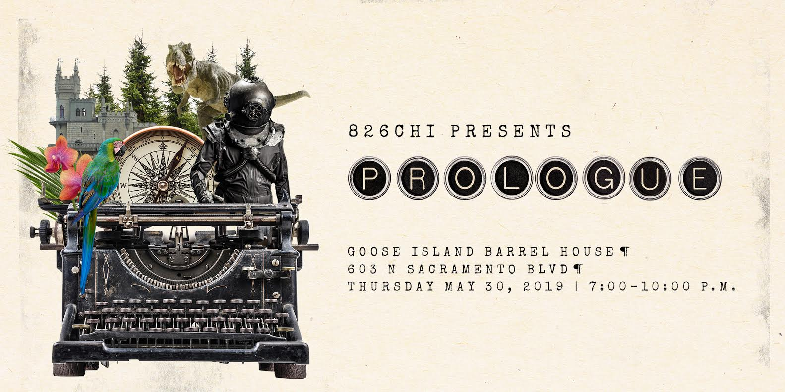 Graphic ad for Prologue