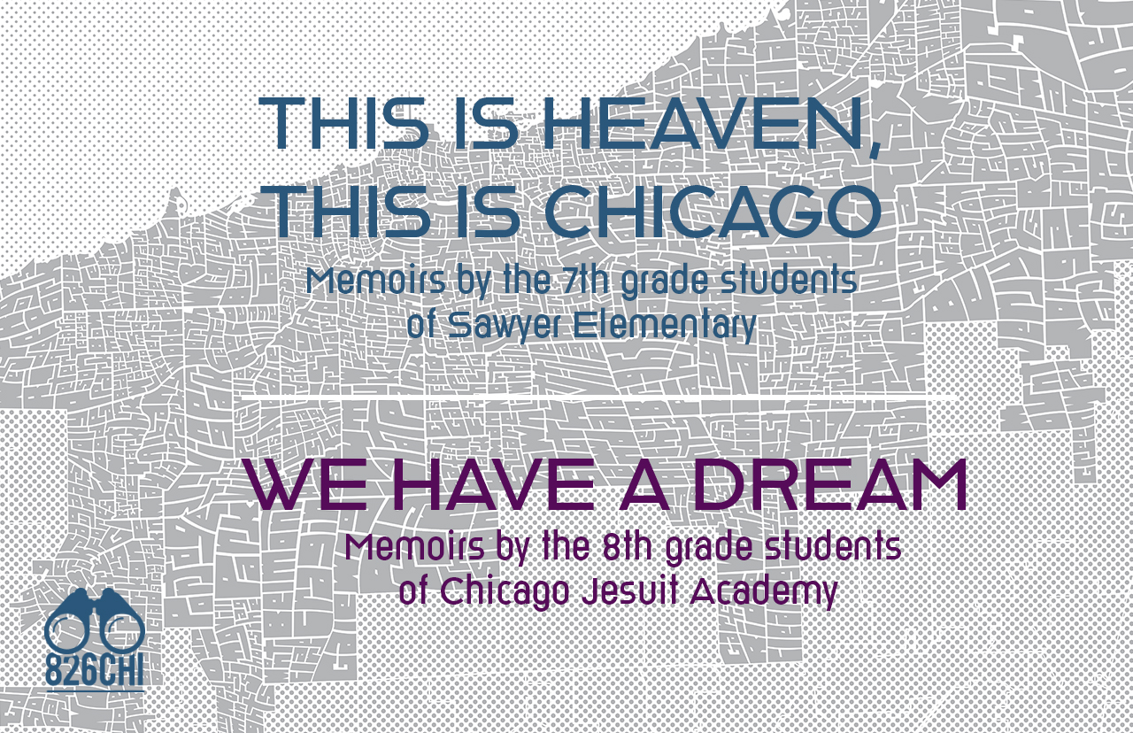 "Graphic ad for ""This is Heaven, This is Chicago"""