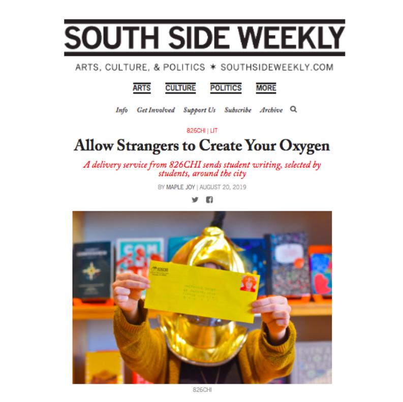 Screenshot of Southside Weekly webpage