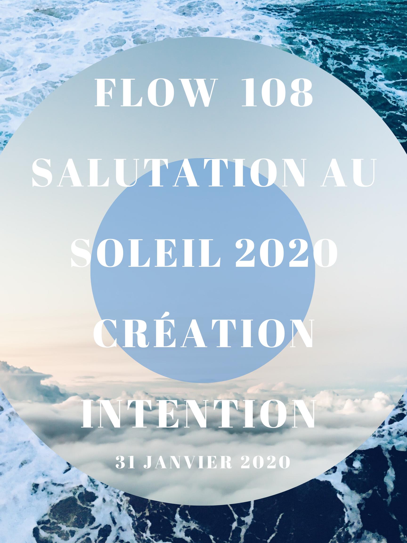 108 Salutation au soleil pour commencer la nouvelle année avec intention