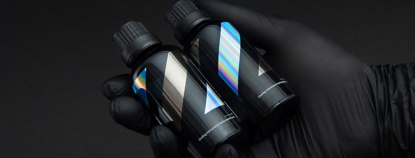 CQuartz Finest Reserve and CQuartz Ceramic Professional coatings.