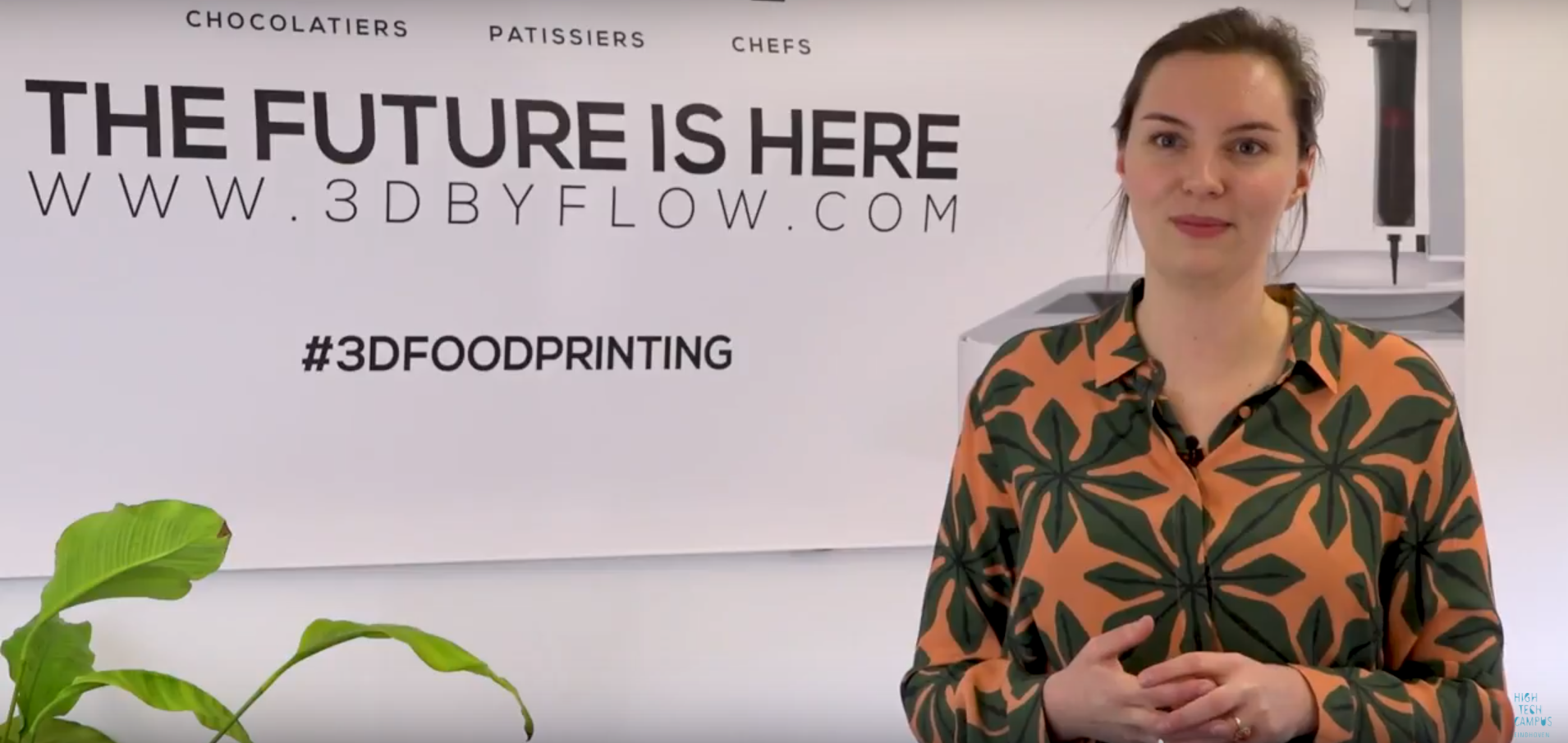 Video of 3D printed food