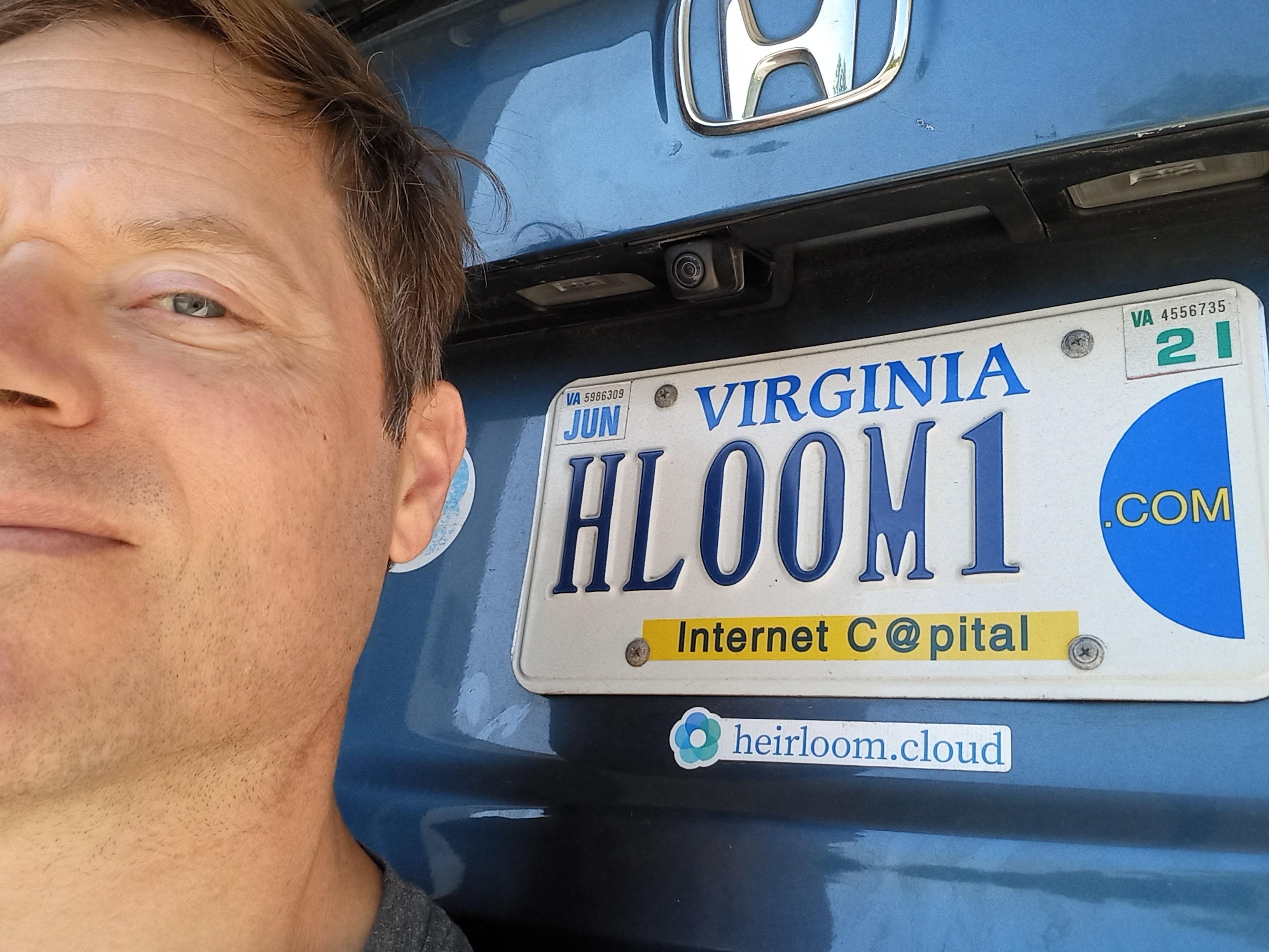 Geoff Weber, CEO of Heirloom Cloud