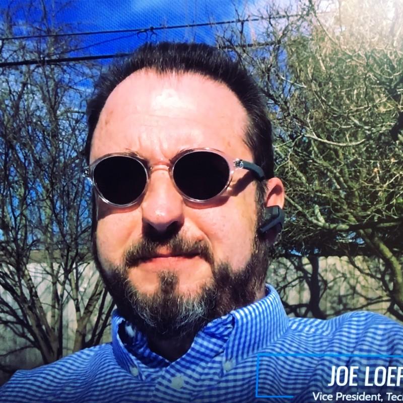 Joe Loepke, VP at PTG