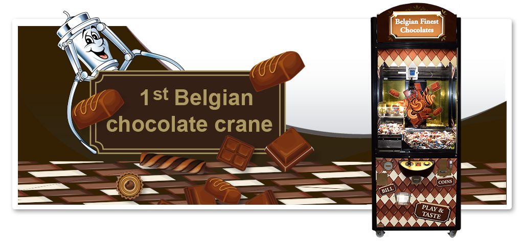 Belgian Finest Chocolate Crane