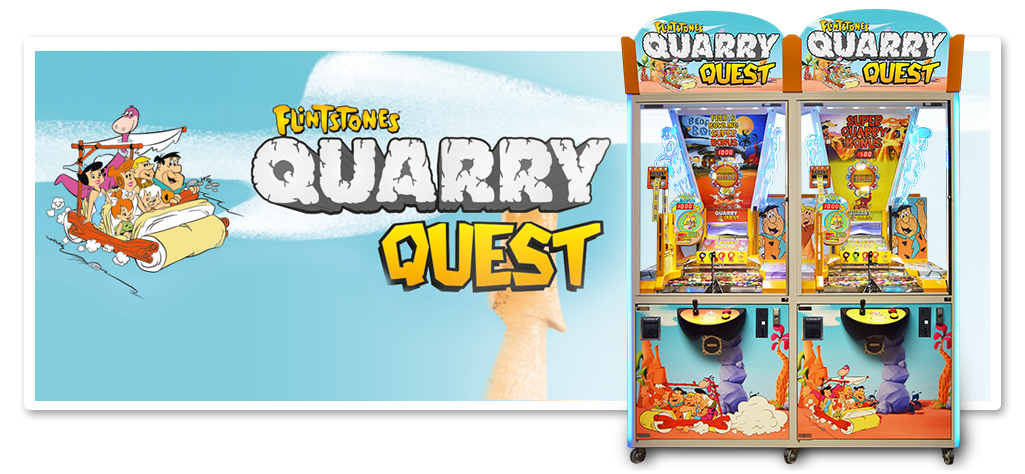 FLINTSTONES Quarry Quest - 1 & 2 Player