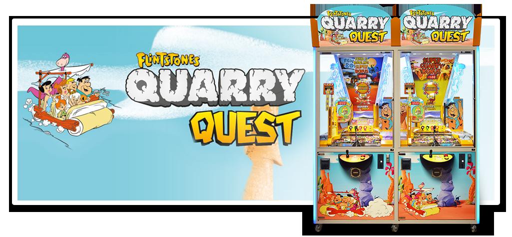 FLINTSTONES Quarry Quest - 1 & 2 Player