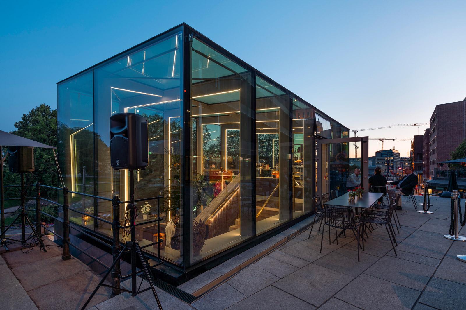 Glasshuset er klart for nye eventyr