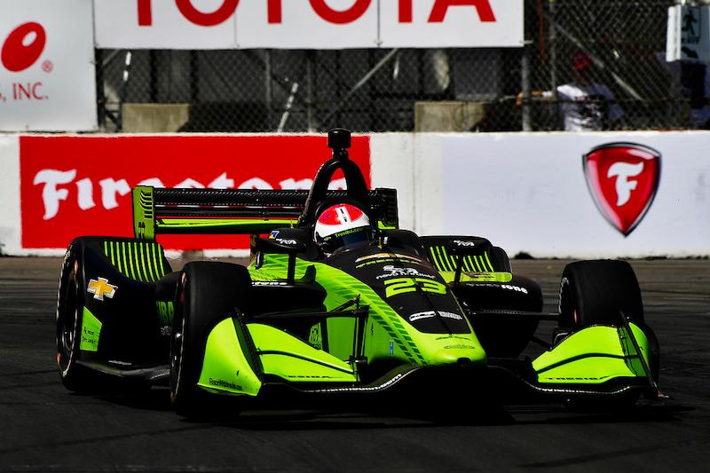 Tresiba Carlin Indycar Livery Design