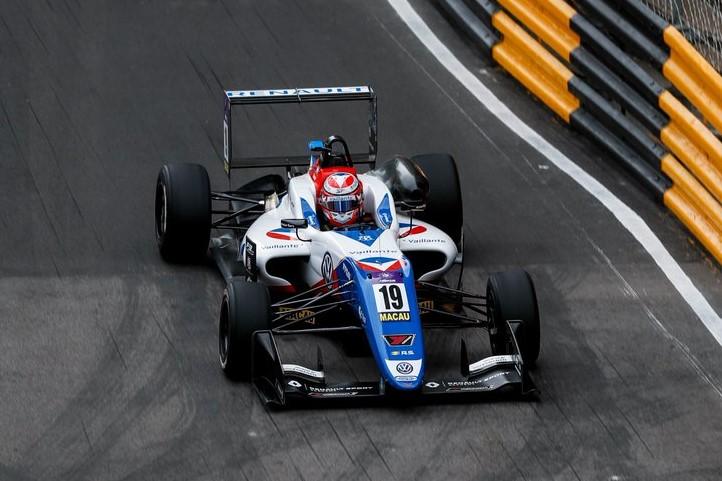 Sacha Fenestraz Macau FIA Formula 3 Livery Design