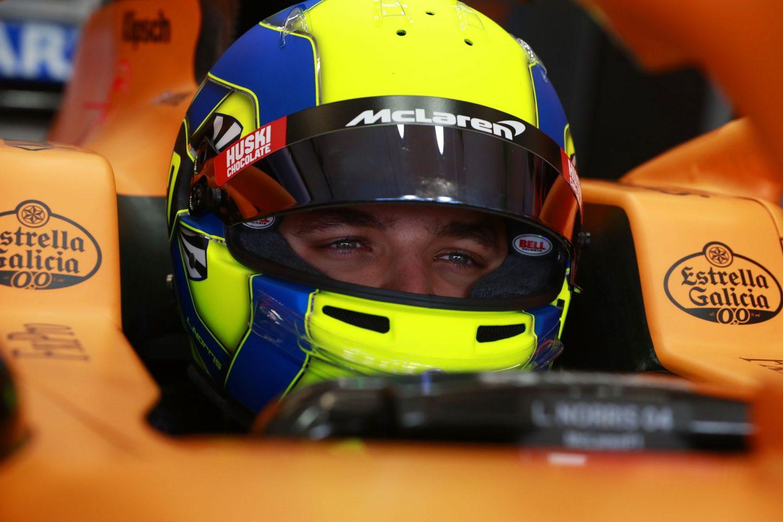 Lando Norris Carlin FIA Formula 2 Livery